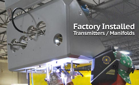 Factory Installation - Welded Assemblies for High Pressure Instrumentation