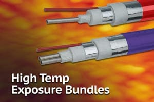 TRACEPAK® Tubing Bundles for Exposure to High Temperatures