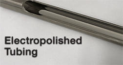 TRUETUBE® Electropolished Sample Transport Tubing