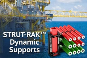 STRUT-RAK Support Systems for Dynamic Offshore Loading